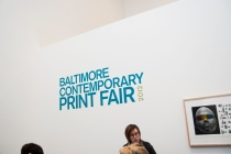 The Baltimore Contemporary Print Fair 2012, all photos by Matthew Smith