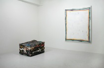 Installation view of Jack Henry and David Ostrowski at Nudashank