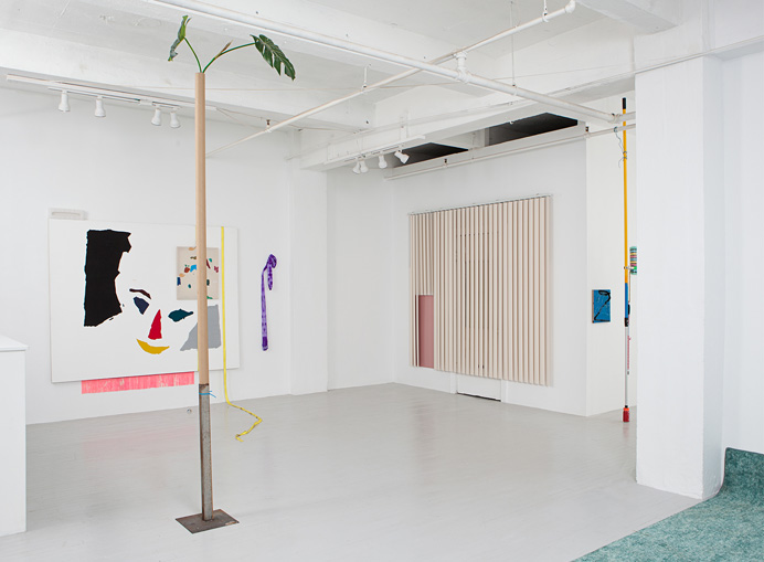 Installation view of Dead Zone